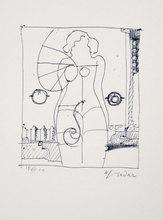 Richard LINDNER - Stampa Multiplo - Marilyn was here 8