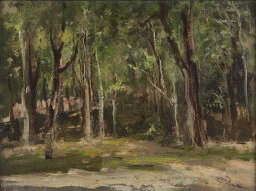 Guglielmo PIZZIRANI - Painting - Il Bosco