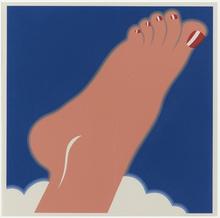 Tom WESSELMANN - Grabado - Seascape (Foot)