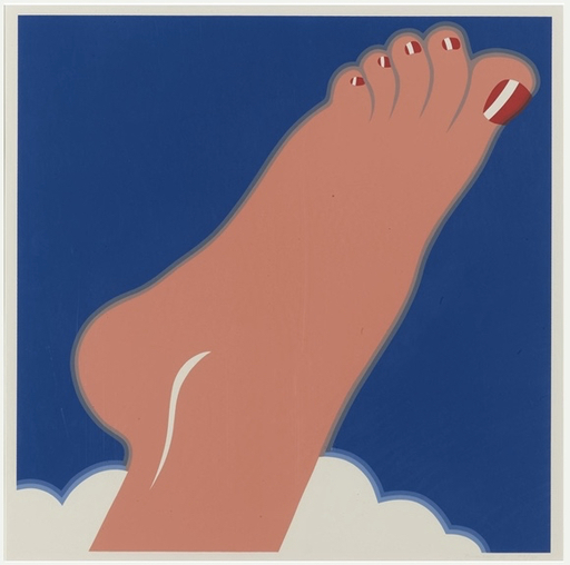 Tom WESSELMANN - Stampa Multiplo - Seascape (Foot)