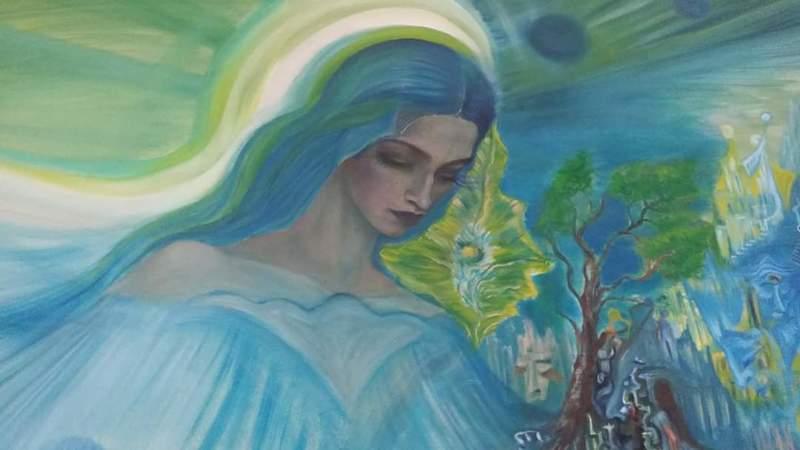 Ellina KATSNELSON - Painting - ESTER