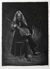 Gerhard MARCKS - Grabado - Gitarrenspieler