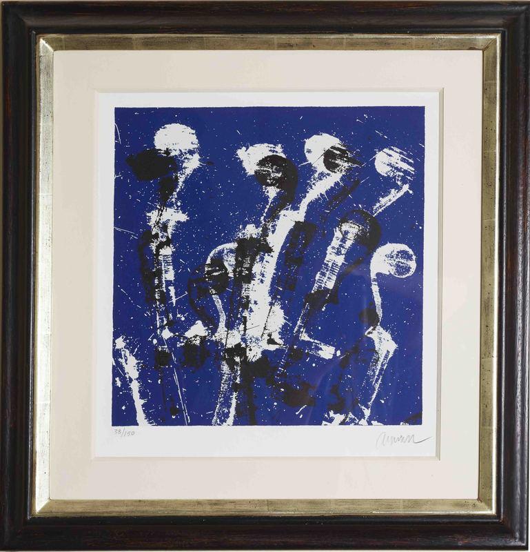 Fernandez ARMAN - Stampa-Multiplo - Manches de Violons Bleus