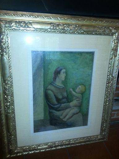 Carlo CARRA - Pintura - maternità