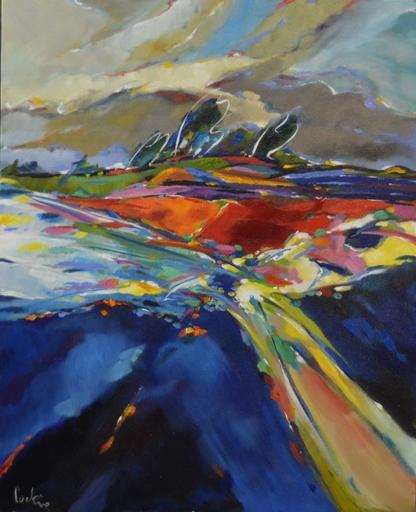 Bernard CADENE - Painting - Vent d'antan