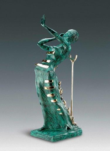Salvador DALI - Escultura - Woman Aflame, Femme en flammes