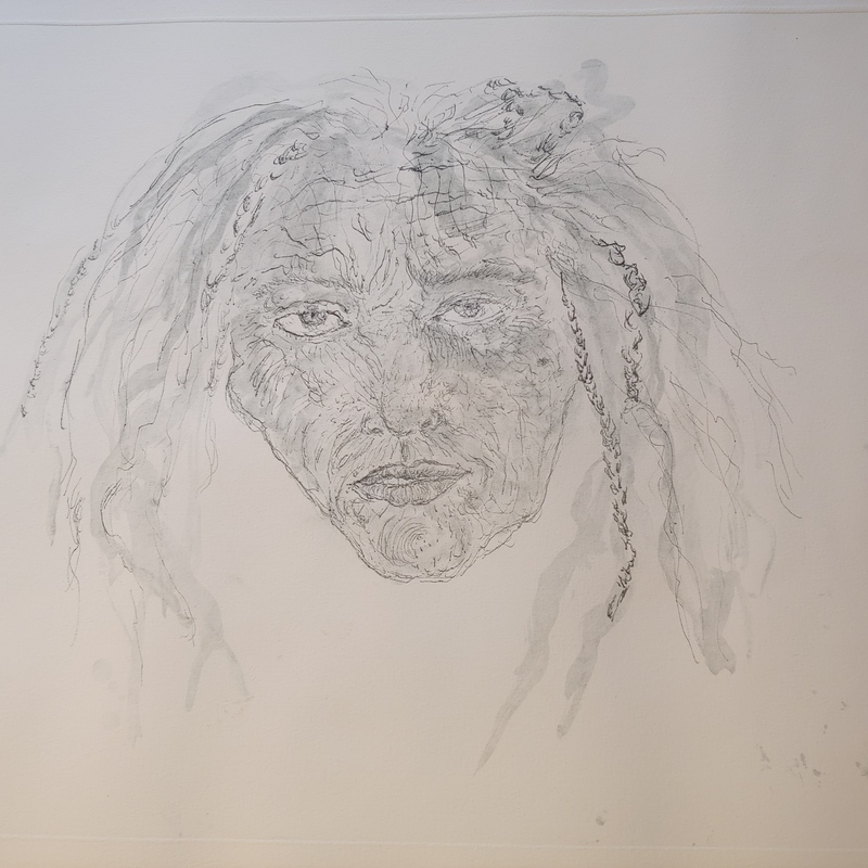 Kiki SMITH - Estampe-Multiple - 1st State Self Portrait