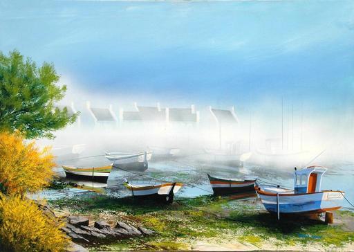 Frank CARRON - Pintura - Marine