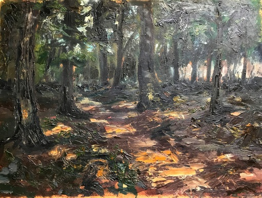 Sandor ZIFFER - Pintura - The forest