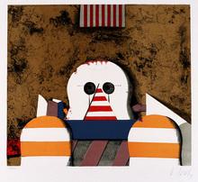 Karl KORAB - Print-Multiple - Stillleben mit Kopf