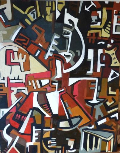 """Frédérique MANLEY - Painting - """"Bascule 2015"""""""