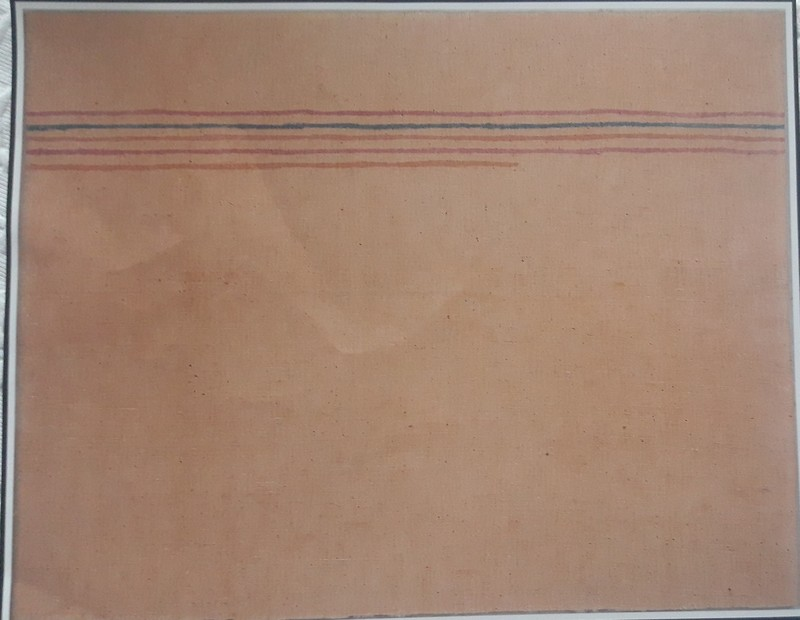 Giorgio GRIFFA - Peinture - LINEE ORIZZONTALI
