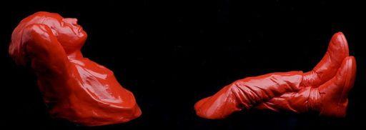 Bruno ROUDIL - Scultura Volume - RED FRED