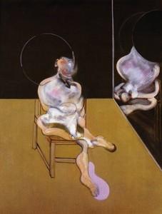 Francis BACON - Grabado - Seated figure