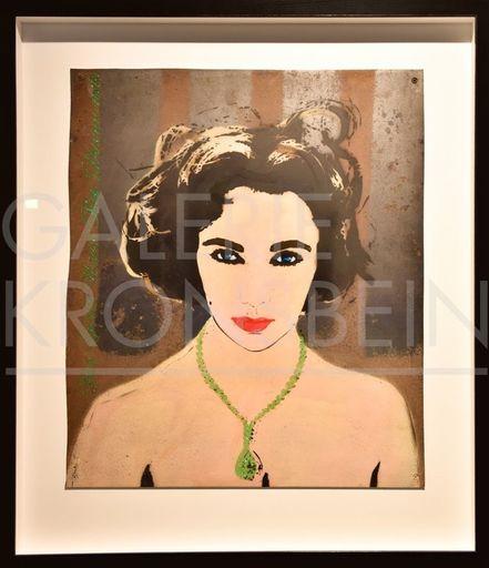 BAMBI - Painting - Liz Taylor - Green