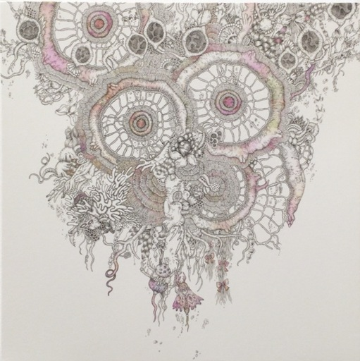 Hitomi AOKI - Drawing-Watercolor - Underwater Fragrance III