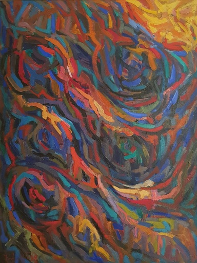HOVAKIM - Pintura - Fantastic gorge