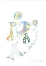 Reine BUD-PRINTEMS - Dessin-Aquarelle - Kepler 452 b - n°17