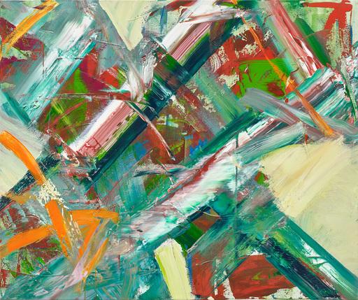 Ursula SCHREGEL - Peinture - ntLes Chemins se Croise, les Chemins se Séparent