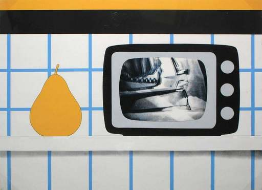 Tom WESSELMANN - Stampa-Multiplo - TV Still Life