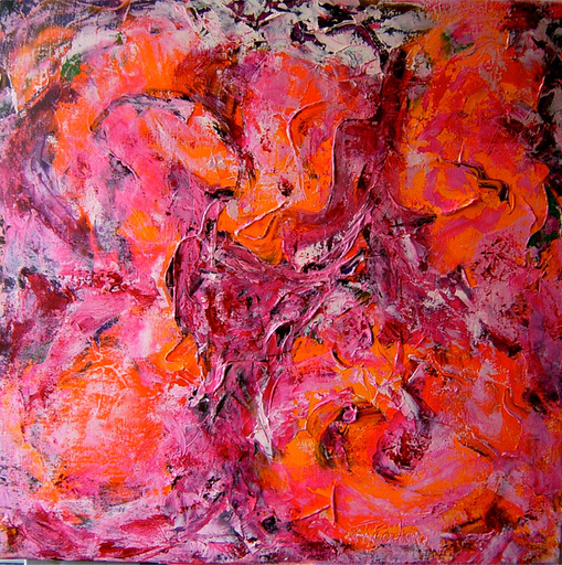 Theodora BERNARDINI - Painting - MOON FLOWER
