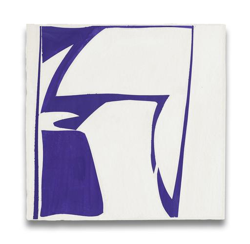 Joanne FREEMAN - Painting - Covers 13-Purple
