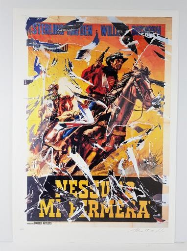 Mimmo ROTELLA - Print-Multiple - Nessun mi fermerà (Top Gun)