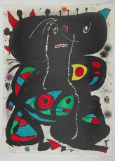 Joan MIRO - Grabado - Untitled