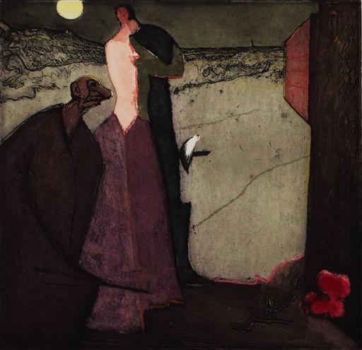 CONSTANT - 版画 - Cyrano declare son amour