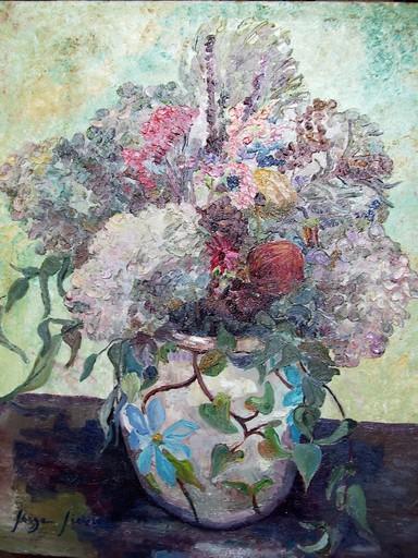 Serge SIEVIC - Peinture - FLEURS   SECHEES