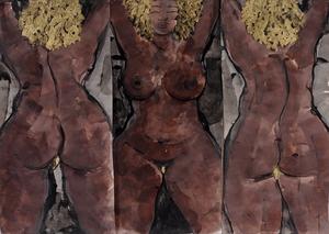 Sophie SAINRAPT - 绘画 - Femme guadeloupéenne
