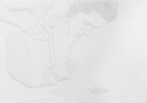 Amparo SARD - Dibujo Acuarela - o.T. (2017-1-14)