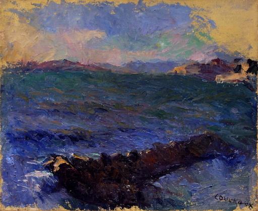 Marcel COUCHAUX - Gemälde - La mer