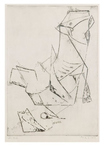 Marino MARINI - Print-Multiple - Idea of the miracle