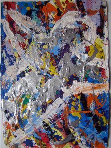 Joaquín FALCO PUJOL - Painting - ABSTRACTION 248
