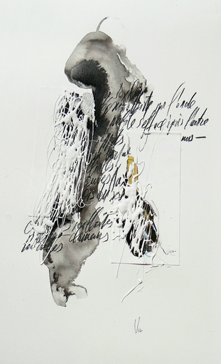 Doina VIERU - Zeichnung Aquarell - Sans Titre