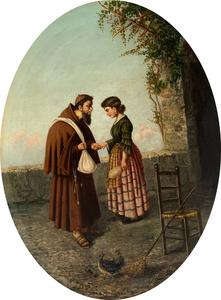 Gaetano MORMILE - Pintura - La confessione
