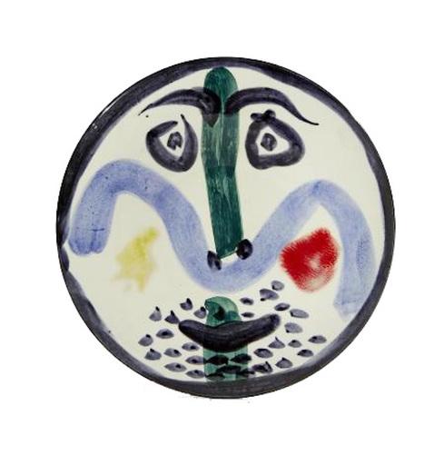 Pablo PICASSO - Ceramiche - Visage n°130