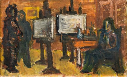 Georg EISLER - Pintura - In der Malklasse
