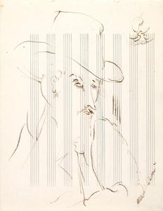 Amedeo MODIGLIANI, Ritratto di uomo con cappello