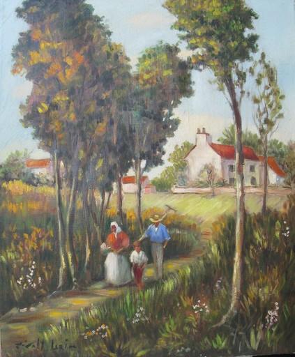 Joan GIRALT LERIN - Painting - *A la Compagne