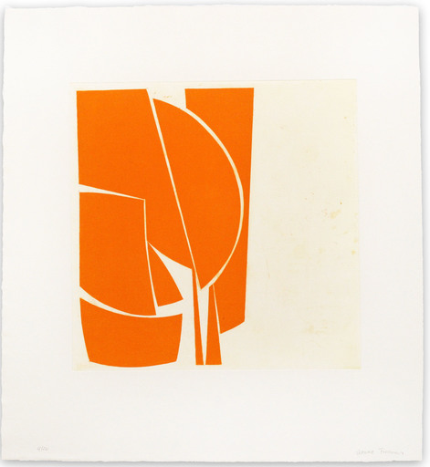 Joanne FREEMAN - Print-Multiple - Covers 1 Orange