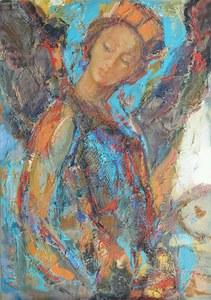 Ludmilla MOSHEK - Painting - Hathor