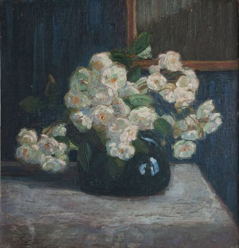 Hans VON BARTELS - Painting - Blumenstillleben