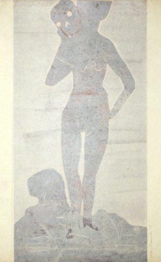 Leiko IKEMURA - Print-Multiple - Muchacha con la muerte 3