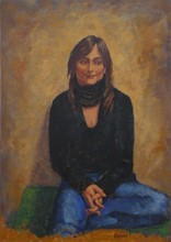 Carlos ESTEBAN - Painting - Elodie    (Cat N° 3456)