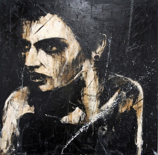 Guy DENNING - Painting - HALOPERIDOL HOLIDAY