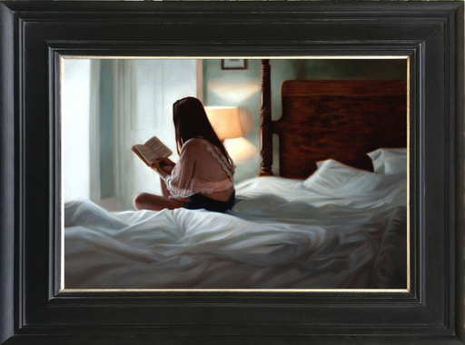 Tina SPRATT - Pittura - A Good Book