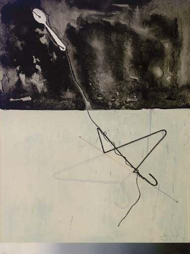 Jasper JOHNS - Druckgrafik-Multiple - Coat Hanger and Spoon