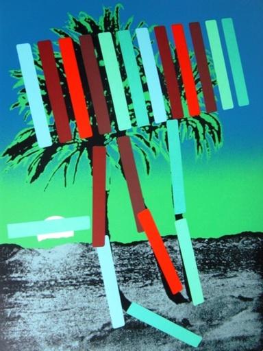 Menashe KADISHMAN - Print-Multiple - Trees in Taba